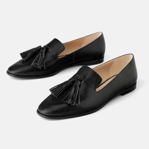 🖤 Zara Tassel Loafers